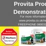 Provita Product Demonstrations