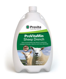 ProVitaMin Sheep Drench with Copper
